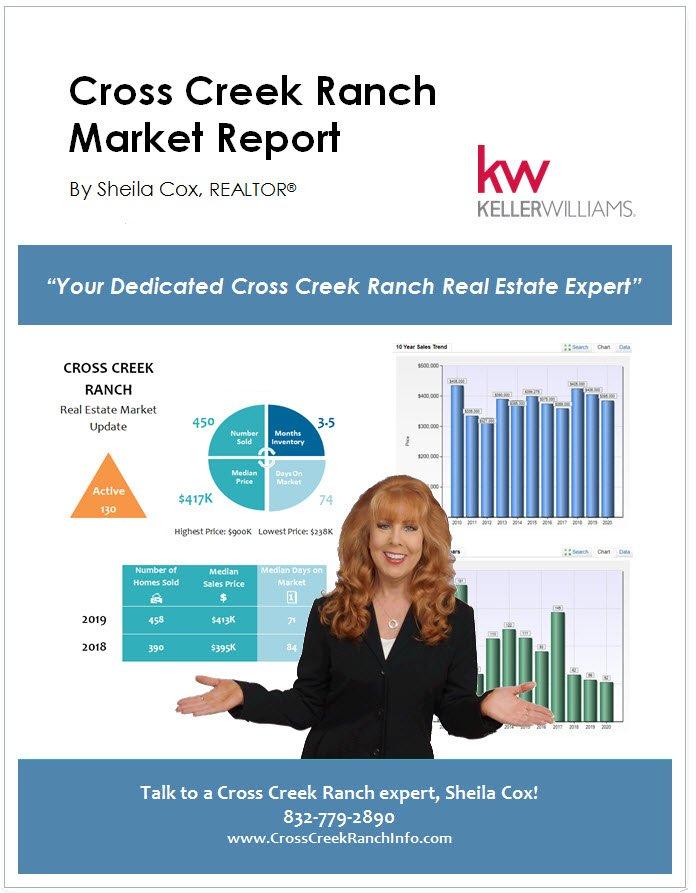 cross creek ranch real estate market report
