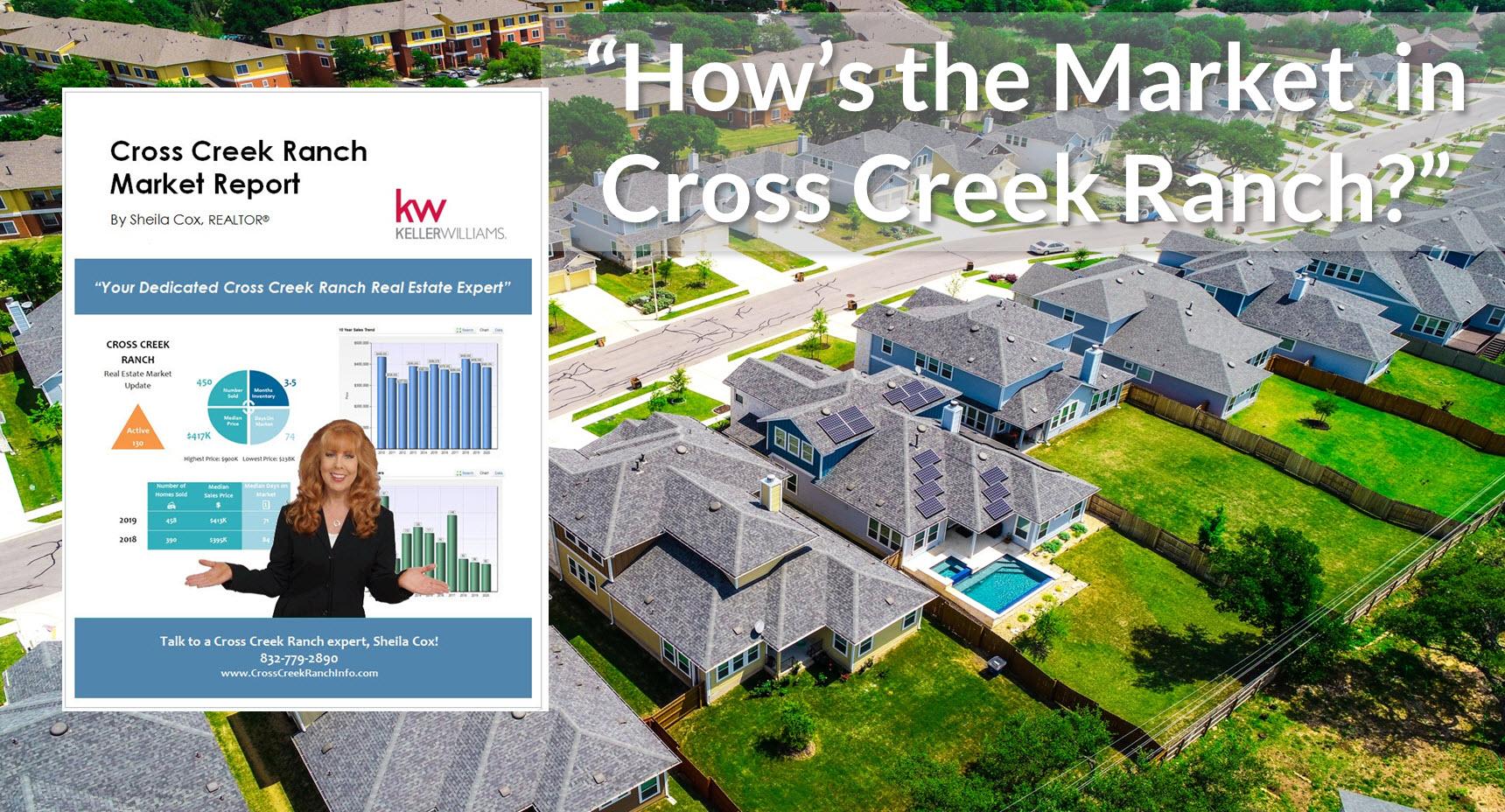 cross creek ranch market report